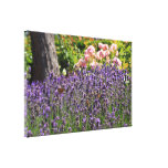 butterfly garden gallery wrapped canvas