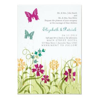 Butterfly Garden in Jewel Tones Card