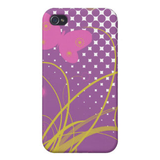 Butterfly Garden iPhone 4 Cover