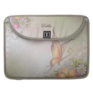 Butterfly Garden MacBook Pro Sleeves