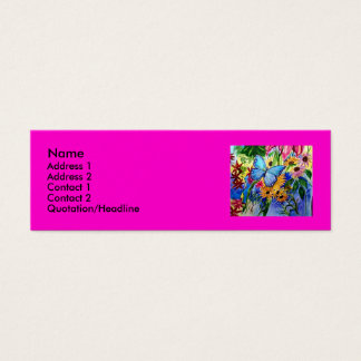 Butterfly Garden Mini Business Card