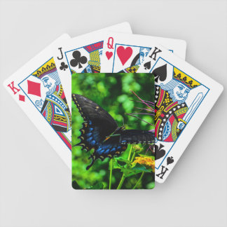 Butterfly Garden Moment Bicycle Playing Cards