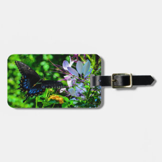 Butterfly Garden Moment Tag For Luggage