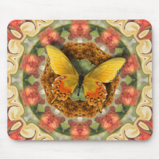 Butterfly Garden. Mouse Pad