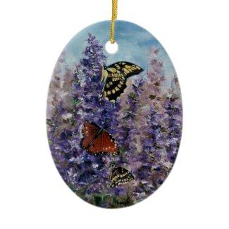 Butterfly Garden Ornament ornament