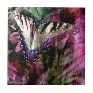 Butterfly Garden phone cases & gifts Ceramic Tiles