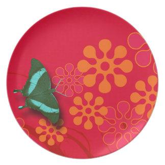 Butterfly Garden Plate