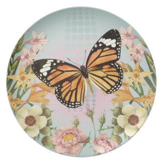 Butterfly Garden-plate Dinner Plate