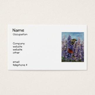 Butterfly Garden Return Address Labels Business Card
