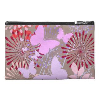 Butterfly Garden Spring Flower Design Travel Accessories Bags