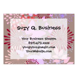 Butterfly Garden Spring Flower Design Business Card Templates