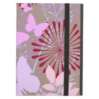 Butterfly Garden Spring Flower Design iPad Air Case