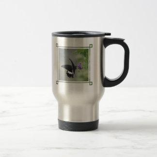 Butterfly Garden Stainless Steel Travel Mug
