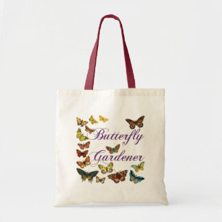 Butterfly Gardener Saying Budget Tote Bag