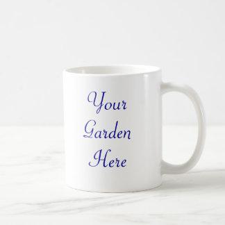 Butterfly Gardener Saying Classic White Coffee Mug