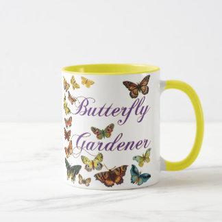 Butterfly Gardener Saying Mug