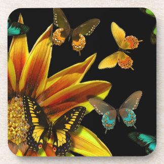 Butterfly Gardens Beverage Coaster