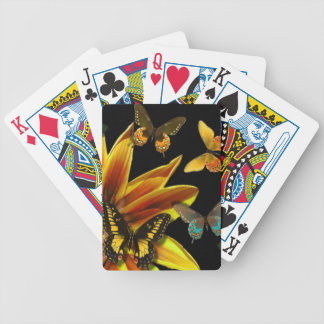 Butterfly Gardens Bicycle Playing Cards