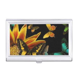 Butterfly Gardens Business Card Holder