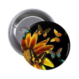 Butterfly Gardens Buttons