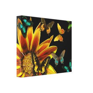 Butterfly Gardens Canvas Print