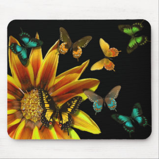 Butterfly Gardens Mouse Pad
