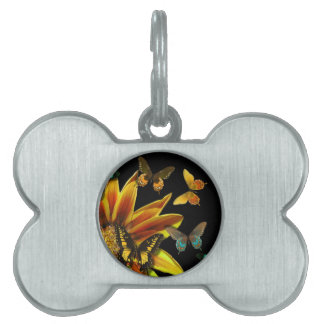 Butterfly Gardens Pet ID Tag