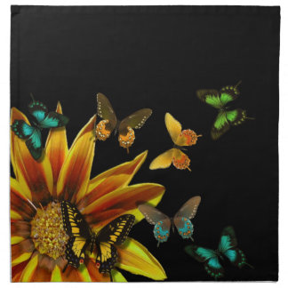 Butterfly Gardens Printed Napkin