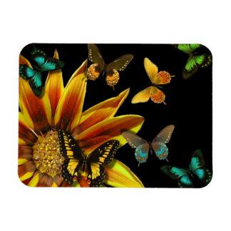 Butterfly Gardens Rectangular Photo Magnet