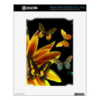 Butterfly Gardens Skin For NOOK