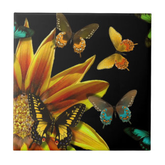 Butterfly Gardens Tile