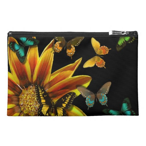 Butterfly Gardens Travel Accessories Bag