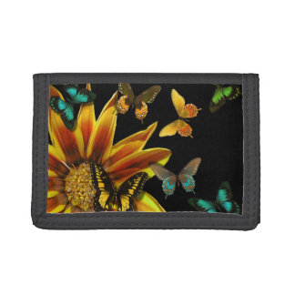 Butterfly Gardens Trifold Wallets