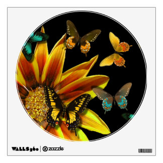 Butterfly Gardens Wall Decal