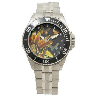 Butterfly Gardens Wrist Watch