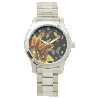 Butterfly Gardens Wrist Watches