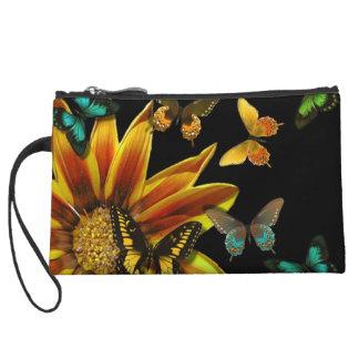 Butterfly Gardens Wristlet Purse