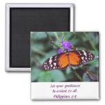 Butterfly - Gentleness Refrigerator Magnet