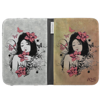 Butterfly Girl 3 Kindle Case Options