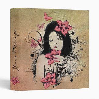 Butterfly Girl 3A Binder Options