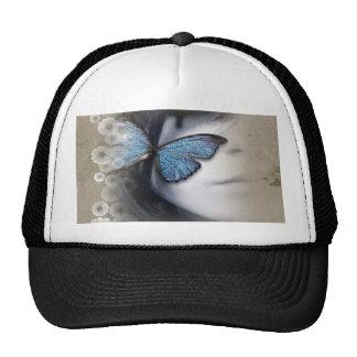 Butterfly Girl Cap Trucker Hat