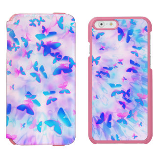 butterfly girl iPhone folio wallet case Incipio Watson™ iPhone 6 Wallet Case