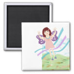 Butterfly Girl Magnets