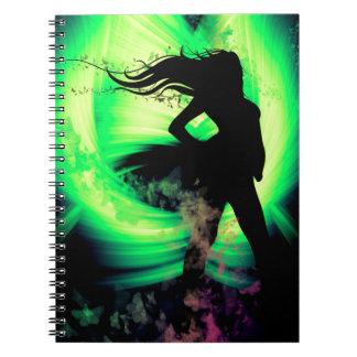 Butterfly Girl Notebook