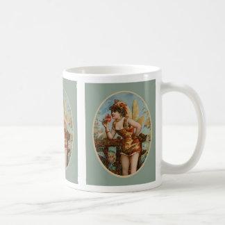 Butterfly Girl off Cigar Box Coffee Mug