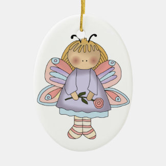 Butterfly girl ornament
