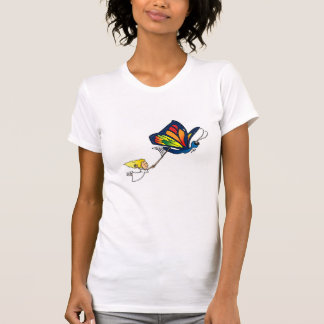Butterfly Girl T Shirts