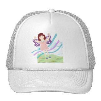 Butterfly Girl Trucker Hat