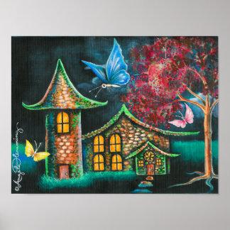 Butterfly Glen Print
