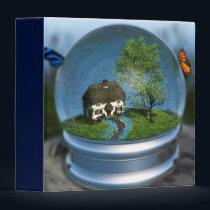 Butterfly Globe Binder